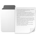 minimal documents folder icon