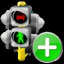 Add, Lights, Traffic icon