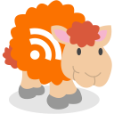 social network, rss, sheep icon