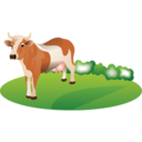 feeding,cattle icon