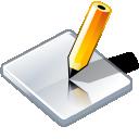 kalem, write, edit, pencil icon