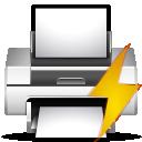 document, file, printer, print, preview, paper icon