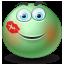 Emot, Kissed icon