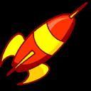 Launch, Rocket icon