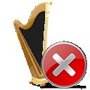close, recycle bin, cancel, stop, trash, no icon