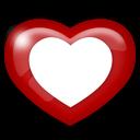 media, heart, social icon