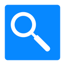 view, search, zoom icon