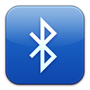 paper, document, bluetooth, file, exchange icon