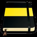 moleskine yellow 512 icon