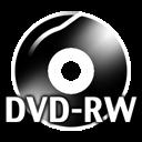 Black DVDRW icon