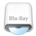 whitedrives,blueray icon