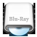 whitedrives,blueray icon