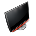 computer, tv, flatscreen, monitor icon