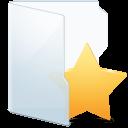 Folder Light Fav Alt icon
