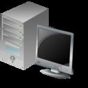 Computer, d, Plan icon