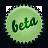 beta, splash, lightgreen icon