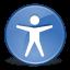 Accessibility, Desktop, Gnome, Preferences icon