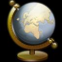 Globe, , Nautilus icon