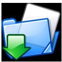 upload, up, folder icon