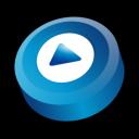 alternate, window, media, player icon
