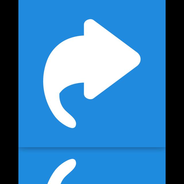 mirror, shortcuts icon