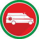 doctor, fire, health, emergency, hospital, ambulance, medicine icon