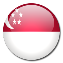 singapore, country, flag icon