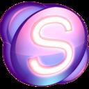 Skype purple icon