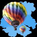 travel,baloon icon