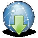 internet, download icon