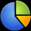 stats, pie, analytics, graph, statistics, chart icon
