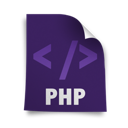 php, page icon