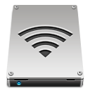 disk, drive, airport icon