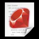ruby, application icon