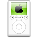 green, ipod, alternative, mp3 player icon
