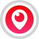 social, logo, media, periscope icon