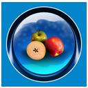 ikony, christmas, food, apple, dooffy, fruit icon