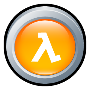 life, half, badge icon