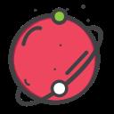 planet, telestial, space, univearse icon