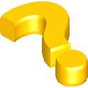 faq, gold icon