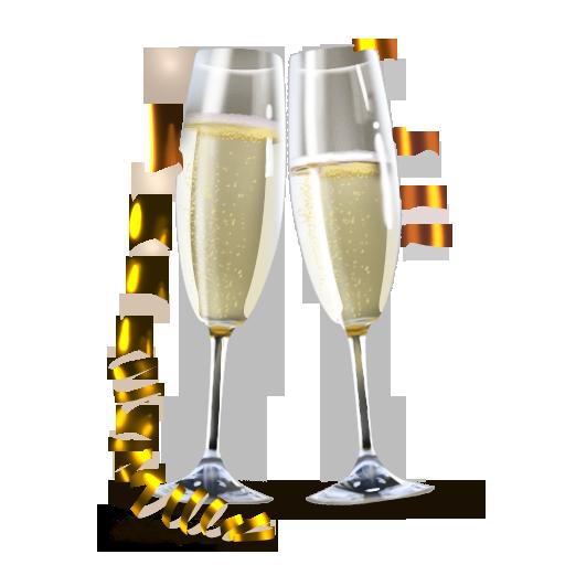 by, lv, champagne, artdesigner icon