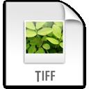 z, tiff, file icon