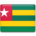 togo, country, flag icon
