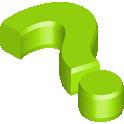 green, faq icon
