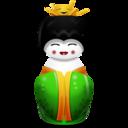 china,green icon