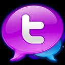 large,twitter,logo icon