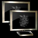 monitor,network icon