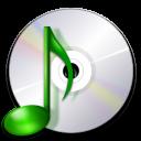 Devices media optical audio icon