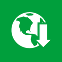 internet, download, manager icon