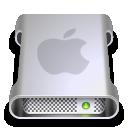 apple, drive icon
